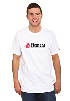 ELEMENT Horizontal S/S T-Shirt white