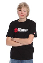 ELEMENT KIDS/ Boys Horizontal S/S T-Shirt black
