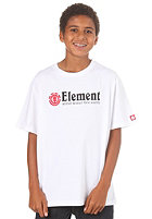 ELEMENT KIDS/ Boys Horizontal S/S T-Shirt white