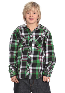 ELEMENT KIDS/ Boys Irving  L/S Shirt golf green