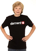 ELEMENT KIDS/ Boys Logo S/S T-Shirt black