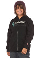 ELEMENT KIDS/ Boys Reflector Hooded Zip Sweat black