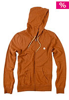 Kids Cornell Hooded Zip Sweat rust