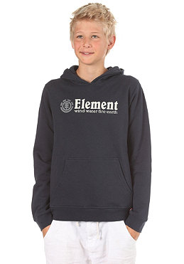 ELEMENT KIDS/ Horizontal Hooded Sweat total eclipse