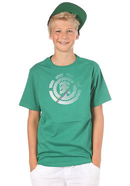 ELEMENT KIDS/ Logo S/S T-Shirt green flash