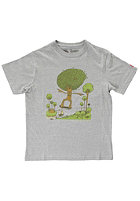 ELEMENT Kids Tree Five-0 S/S T-Shirt grey heather