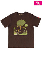 ELEMENT Kids Tree Five-0 S/S T-Shirt walnut