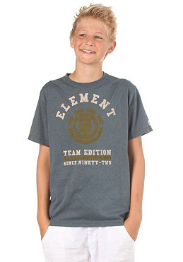 ELEMENT KIDS/ University Boys S/S T-Shirt blue
