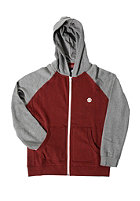ELEMENT Kids Vermont Hooded Zip Sweat grey heather