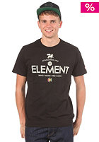ELEMENT Lion S/S T-Shirt black