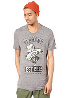 ELEMENT Lion S/S T-Shirt charcoal heather