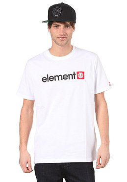 ELEMENT Logo S/S T-Shirt white