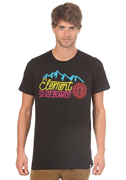 ELEMENT Neon Lights S/S T-Shirt black