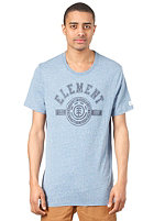 ELEMENT Permit F S/S T-Shirt blue heather