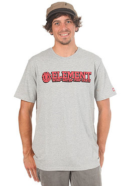 ELEMENT Player S/S T-Shirt grey
