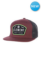 ELEMENT Protect Snapback Cap oxblood