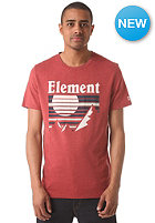 ELEMENT Setting Sun S/S T-Shirt barn red