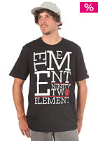 ELEMENT Stacker S/S T-Shirt black