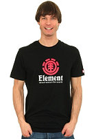 ELEMENT Vertical S/S T-Shirt black