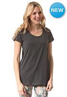 ELEMENT Womens Elba S/S T-Shirt charcoal heathe