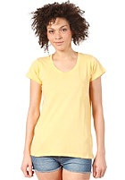 ELEMENT Womens Elba S/S T-Shirt vintage yellow