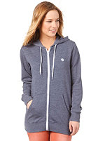 ELEMENT Womens Erin Hooded Zip Sweat indigo