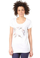 ELEMENT Womens Feathered Friends S/S T-Shirt white