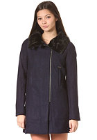 ELEMENT Womens Lether Jacket peacoat