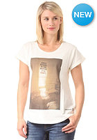 Womens London S/S T-Shirt ivory