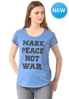 ELEMENT Womens Make Peace S/S T-Shirt olympian blue