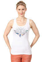 ELEMENT Womens Nature Tree Singlet Long Top white