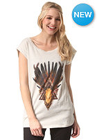 ELEMENT Womens Nightsky S/S T-Shirt ivory heather