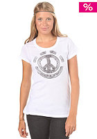 ELEMENT Womens Peace Lace S/S T-Shirt white