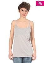ELEMENT Womens Poly II Singlet S/S Top grey heather
