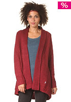 ELEMENT Womens Sanfran Cardigan crimson red