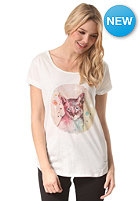 ELEMENT Womens Space Cat S/S T-Shirt ivory