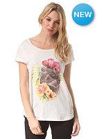 ELEMENT Womens Wild Feline S/S T-Shirt ivory