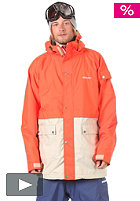 ELEVEN Deka Jacket 2012 poppy orange/sand