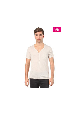 ELEVEN PARIS L2 Basic Pocket S/S T-Shirt beige chine