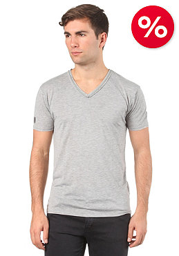 ELEVEN PARIS L2 Basic S/S T-Shirt grey chine