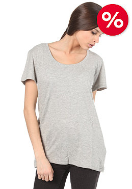 ELEVEN PARIS Womens Basic Oversize S/S T-Shirt grey chine