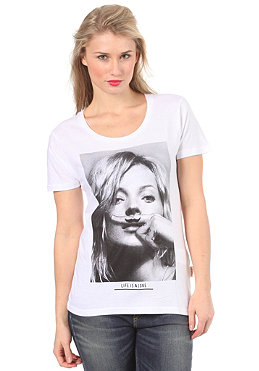 ELEVEN PARIS Womens Mossy S/S T-Shirt white