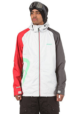 ELEVEN Pavon Jacket 2012 light grey/red/dark grey