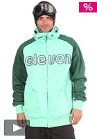 ELEVEN Tune Softshell Jacket 2012 motu blue/marston green