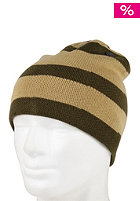 ELM Three Striped Beanie olive