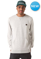 EMERICA Box Logo Crew Sweatshirt grey heather