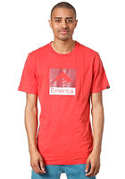 EMERICA Combo 10 S/S T-Shirt red/heather