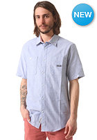 EMERICA Footsies Woven S/S Shirt royal