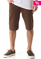 EMERICA HSU Slim 5 Pocket Short chocolate