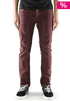 EMERICA Hsu Slim Denim Pant burgundy